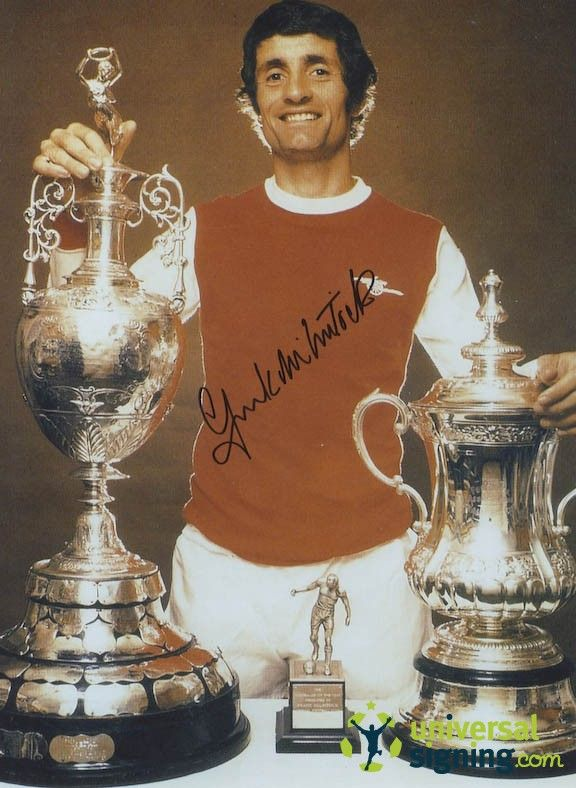 View Frank McLintock Arsenal Signed 16x12 Photo