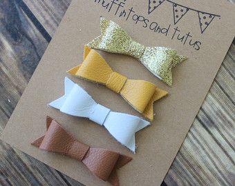 Felt and glitter headband set by muffintopsandtutus on Etsy