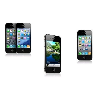 """Black 32GB iPhone 4. Comes with all accessories in box. Locked to AT without contract. 3.5"""" TFT capacitive display, Scratch-resistant surface, Multi-touch input method, Accelerometer, Proximity, Three-axis sensor, 32 GB, Wi-Fi 802.11 b/g/n, Two Cameras, GPS, Multitasking capable, A4 CPU Product Features * Does not include AT service contract * Facetime * Retina Display * Multitasking * HD Video Recording * 5MP Camera"""