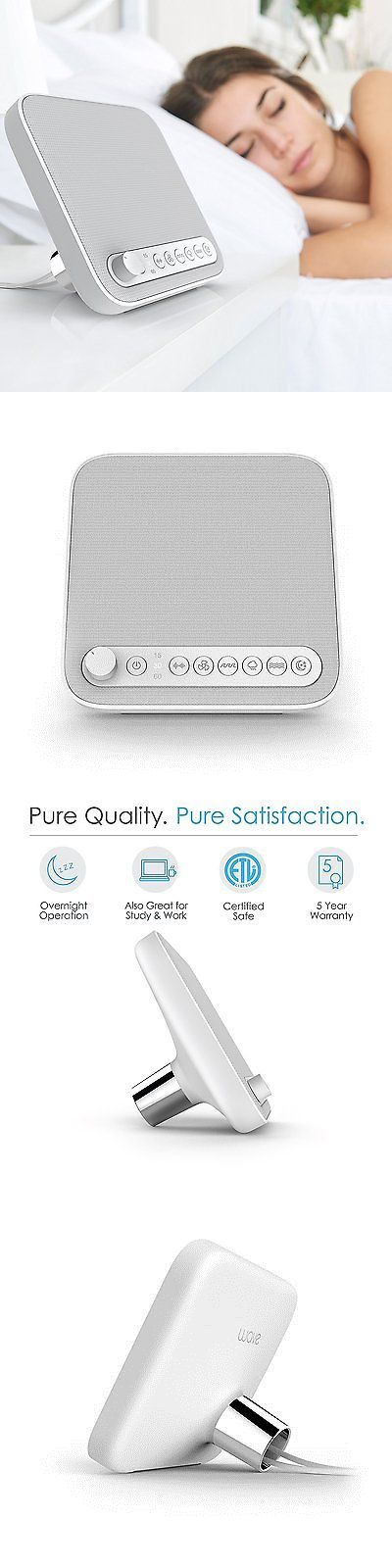 Sound Therapy: Sound Therapy Machine Sleep Noise Sound White Soothing Nature Relax Conair Baby -> BUY IT NOW ONLY: $53.09 on eBay!