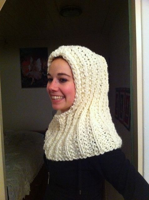 Free Knitting Pattern Hooded Neck Warmer : 17 Best images about Crochet Hooded Cowl on Pinterest ...