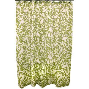 Famous Home Waverly Shower Curtain, Green