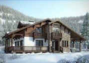 Внешний вид :: Дом-шале с большой террасой