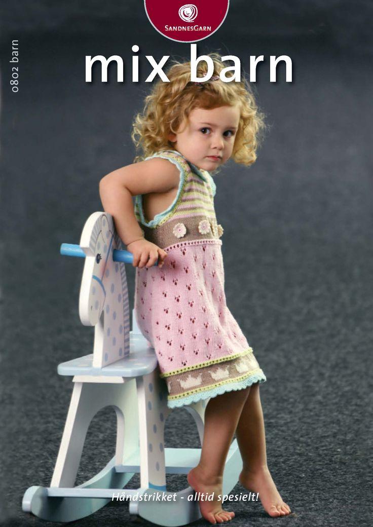 0802 Mix Barn - mange gratis opskrifter - dukker, børn, voksne