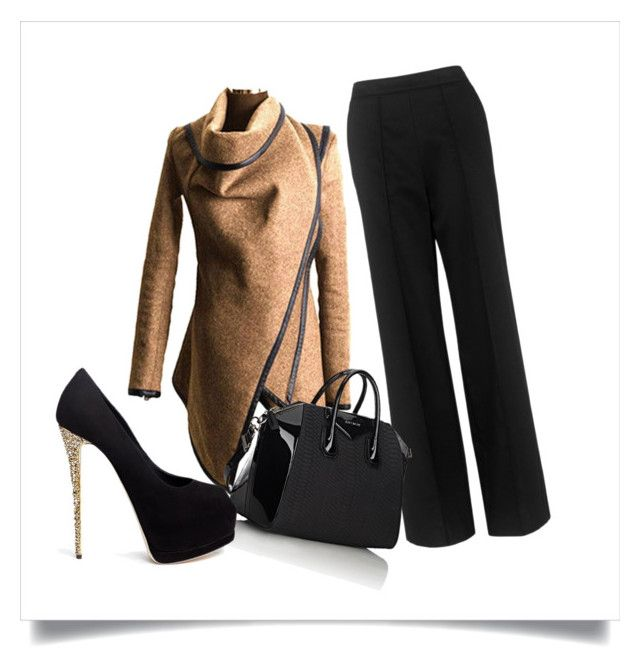 """Inverno chic"" by simona-norfini on Polyvore featuring Whistles, Givenchy and Giuseppe Zanotti"