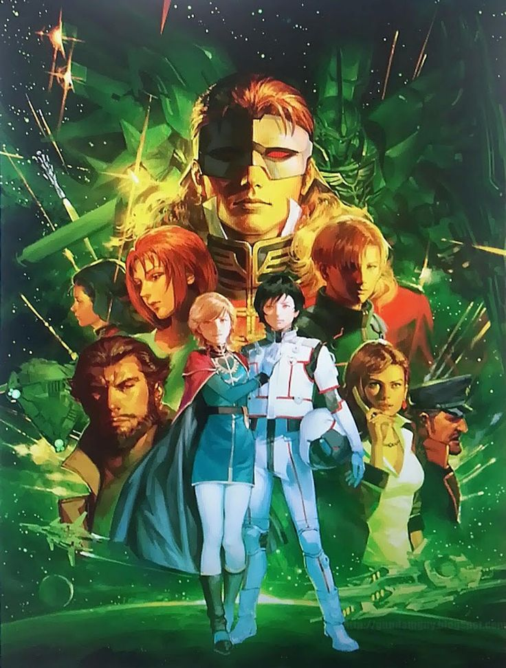 "gslchar: ""Hi-Res Gundam Unicorn poster art. Source:[x] """