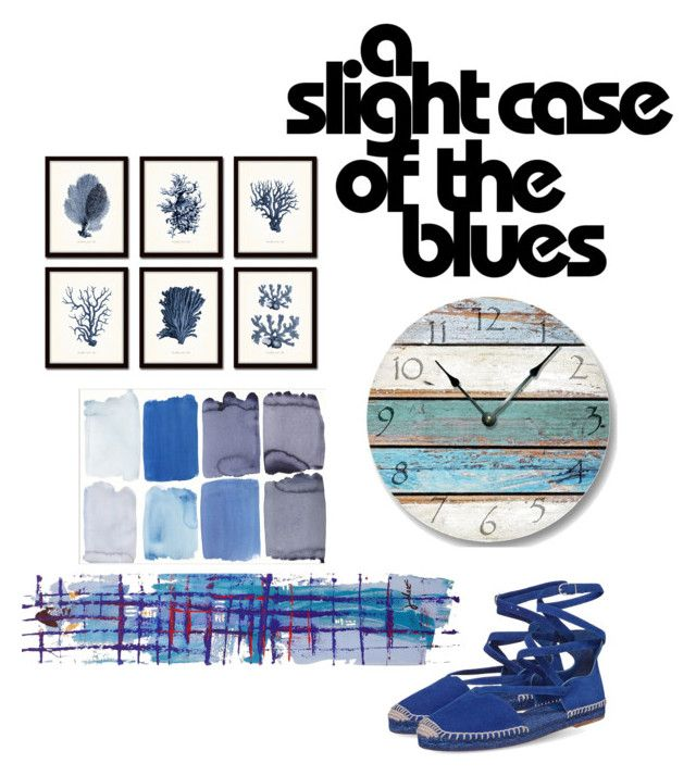"""""""A slight case of the blues"""" by penkreitto on Polyvore featuring NOVICA"""