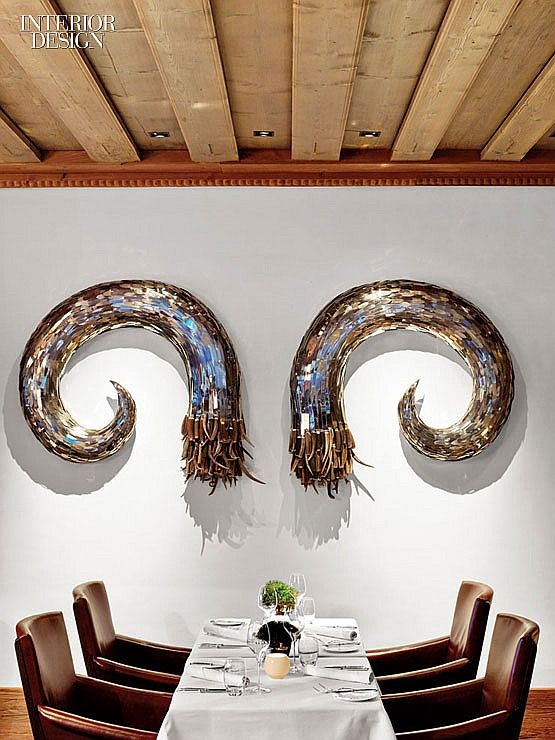 CONSIDER GIANT WINGS MADE FROM......Home Run: Inside the Residences of 10 Designers | Projects | Interior Design