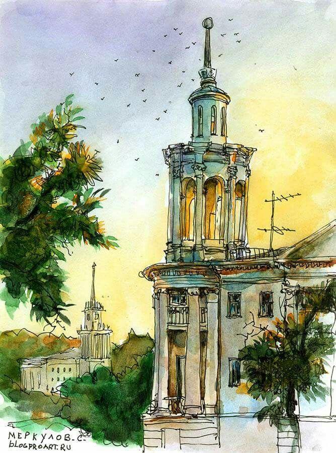 Скетч Сергея Меркулова (г.Севастополь) || Sergey Merkulov Sketch (Sevastopol)