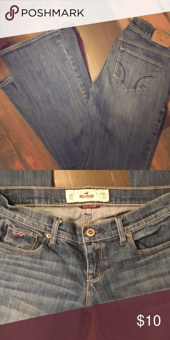 Hollister Low Rise Social Stretch Jean s 25 Hollister Low Rise Jean, perfect Stretch- Jeans Boot Cut