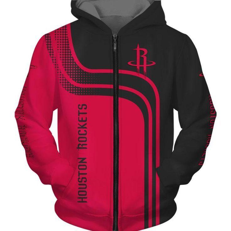 Neue 2019 Houston Rockets Hoodie 3D günstige Basketball Sweatshirt NBA …  – Basketball Pictures