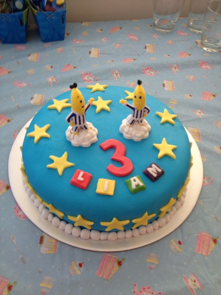32 best images about bananas in pyjamas party on pinterest - Banana cake decoration ...
