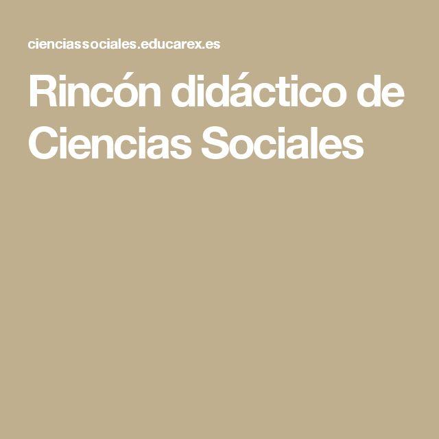 Rincón didáctico de Ciencias Sociales
