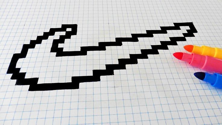 Handmade Pixel Art How To Draw Nike Logo Pixela Art Draw