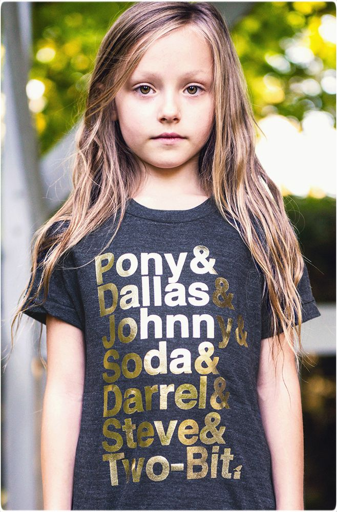 "The Outsiders Tee - Limited Edition ""Stay Gold"" Collection 