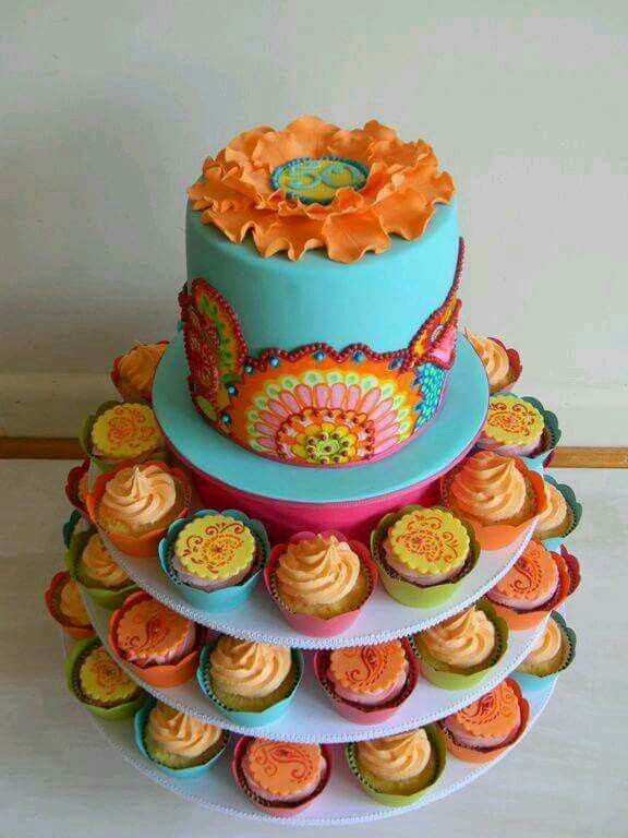 Love the cake on top