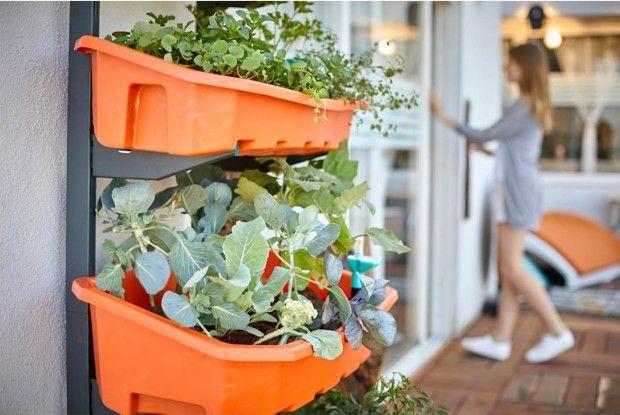 Tuinieren op elk balkon  met deze verticale moestuin - De Altifarm is nu te koop op Indiegogo.com