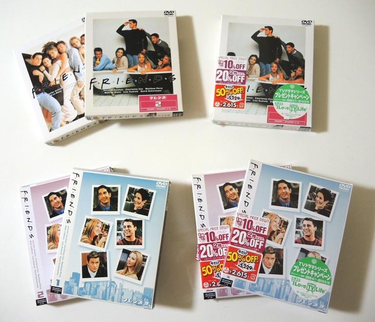誰かフレンズ(海外ドラマ)を見てみたいとか、DVDが欲しい方いませんか?  ・シーズン1 全話 1セット  ・シーズン1 後半12話  ・シーズン4 全話 2セット  という、超片寄った物しかありませんが、欲しい方いたら連絡ください〜!面白いよ!