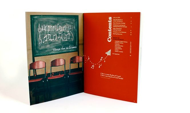 Musica Viva Education Concept, art direction and design by Alphabet Studio. alphabetstudio.com.au