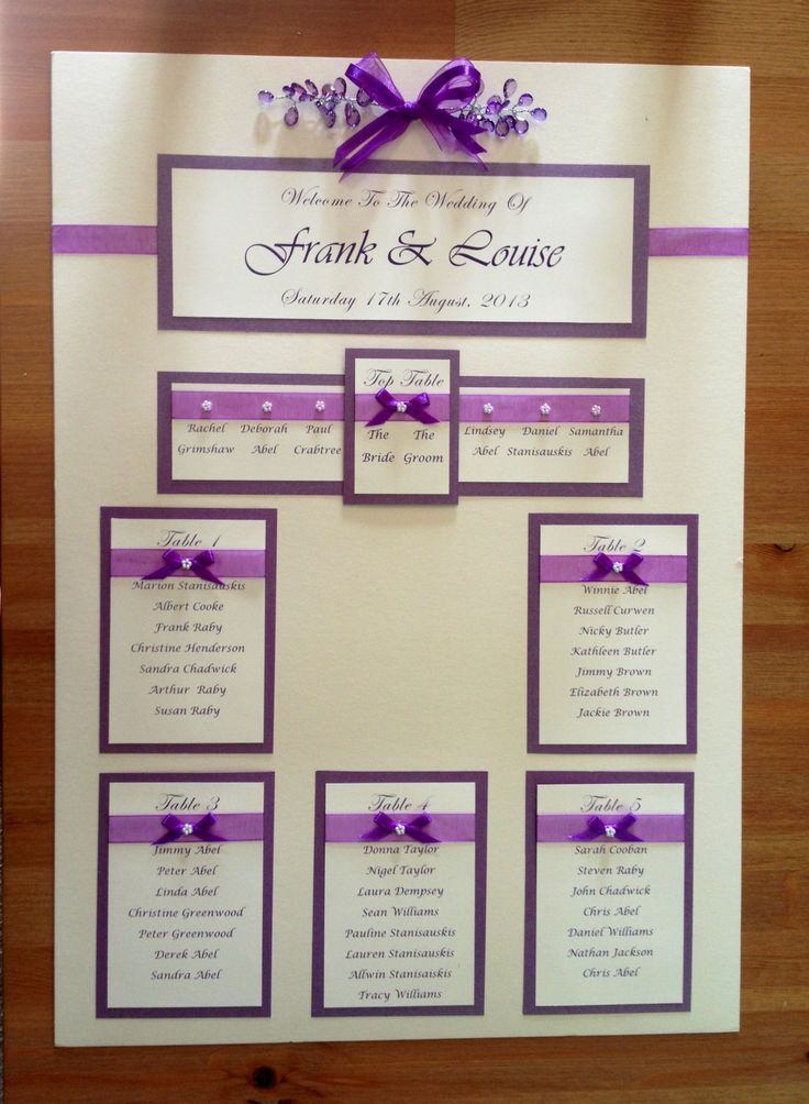 wedding seating plan board - Google Search More