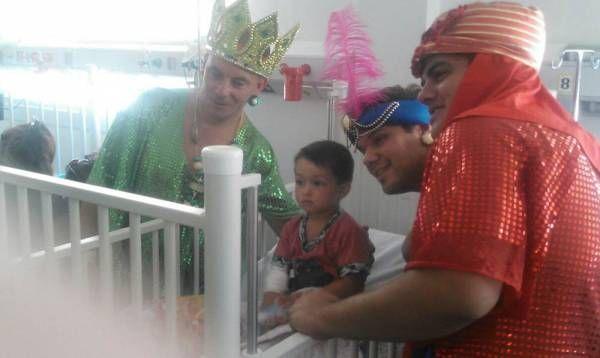 El Hospital Materno Infantil de Tigre recibió a los Reyes Magos