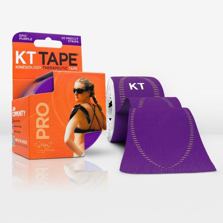 Win two rolls of KT Tape for running, training, lifting, exercise, support and fun