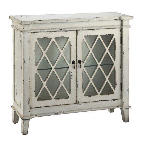 Stein World Jonathan Glass Door Cabinet
