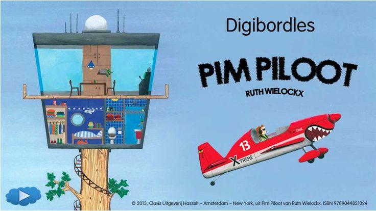 Ga op reis met Pim Piloot in deze super leuke digibordles!