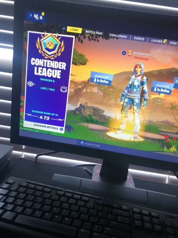 Fortnite Account W/ 232 Arena Points, Great Skins, Stats