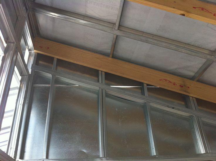 Steel Frame House - Inside roof waterproofing (21/09/12)
