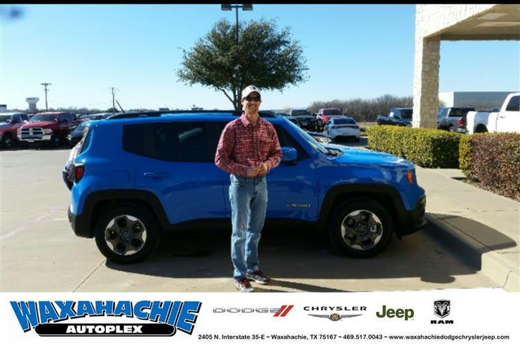 https://flic.kr/p/Rupftp | Happy Anniversary to Stephen on your #Jeep #Renegade from Nicholas Allison at Waxahachie Dodge Chrysler Jeep! | deliverymaxx.com/DealerReviews.aspx?DealerCode=F068