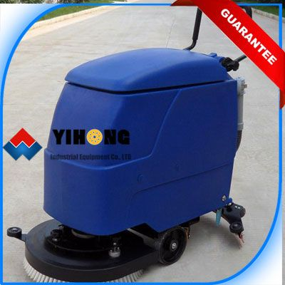 The Walk Behind Automatic Floor Scrubber YHFS-510HD is a self-propelled automatic floor scrubber, a start and go machine, which doesn't require any training, maintenance fast, easy and highly performing.
