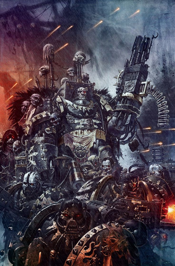 69 best 30K: Chaos Space Marines images on Pinterest ...
