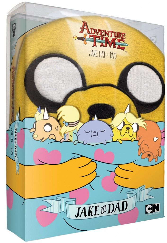 Adventure Time – Jake the Dad hat and DVD set