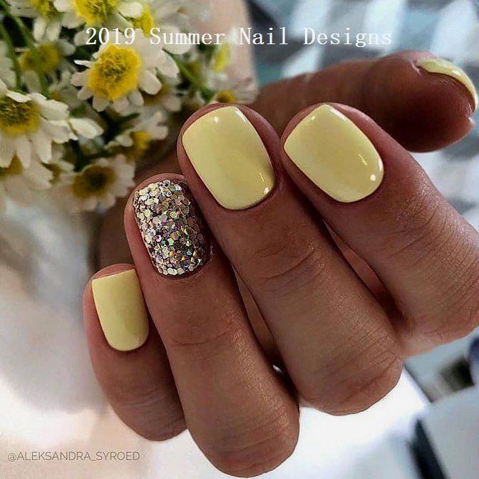 33 Süße Sommer Nail Design Ideen 2019 #nailideas – Nägel