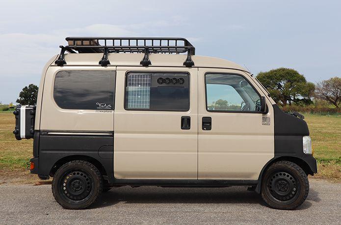 たった10万円で購入した軽バンを キャンプ仕様 にカスタムする方法 軽バン ミニトラック カーキャンプ
