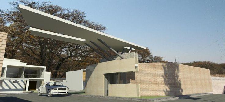 Caseta de vigilancia proyectos ipalma arquitectos y for Casetas de jardin modernas