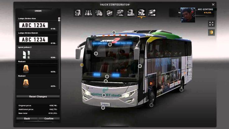 My Desain livery mod bus GAMES PC ETS 2 DVD
