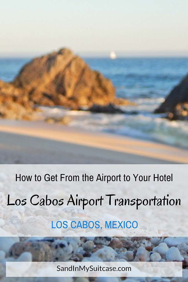 Los Cabos Airport Transportation How to Get