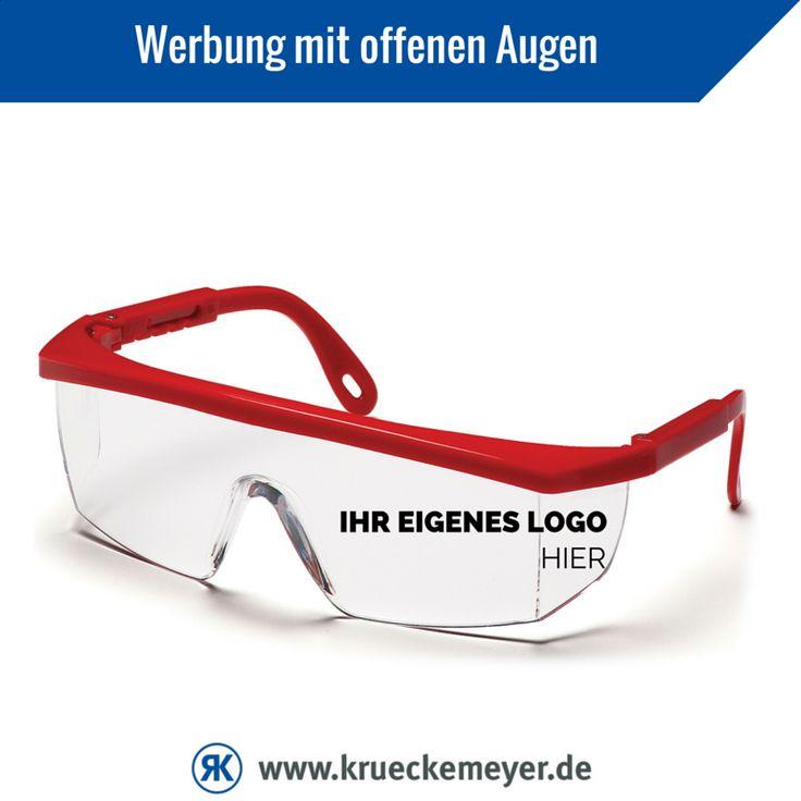 Das ideale Werbegeschenk für Ihre Kunden #Safety #Schutzbrille #Krueckemeyer #Pyramex #Glasses #Logo #Druck #Arbeitsschutz #Brille