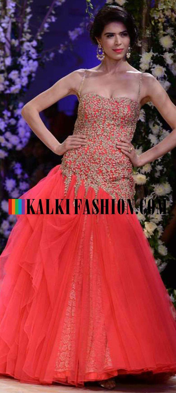 http://www.kalkifashion.com/designers/jyotsna-tiwari.html Urnashi Rautela and other models walk the ramp for Jyotsna Tiwari at Indian Bridal Week NOV 2013 at Mumbai 53