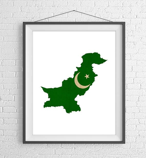 Pakistan Flag Map Print, Pakistan Map, Pakistan Silhouette Art, Vintage Flag Poster, Wall Art, Map of Pakistan, Geography Gift, Pakistani Gifts https://www.etsy.com/listing/524020424/pakistan-flag-map-print-pakistan-map?ref=shop_home_active_5