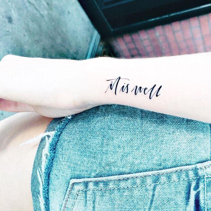 awesome Tiny Tattoo Idea - It's Lena Time Blog tattoo minimalist tattoo christian tattoo handlettering... Check more at http://tattooviral.com/tattoo-designs/small-tattoos/tiny-tattoo-idea-its-lena-time-blog-tattoo-minimalist-tattoo-christian-tattoo-handlettering/