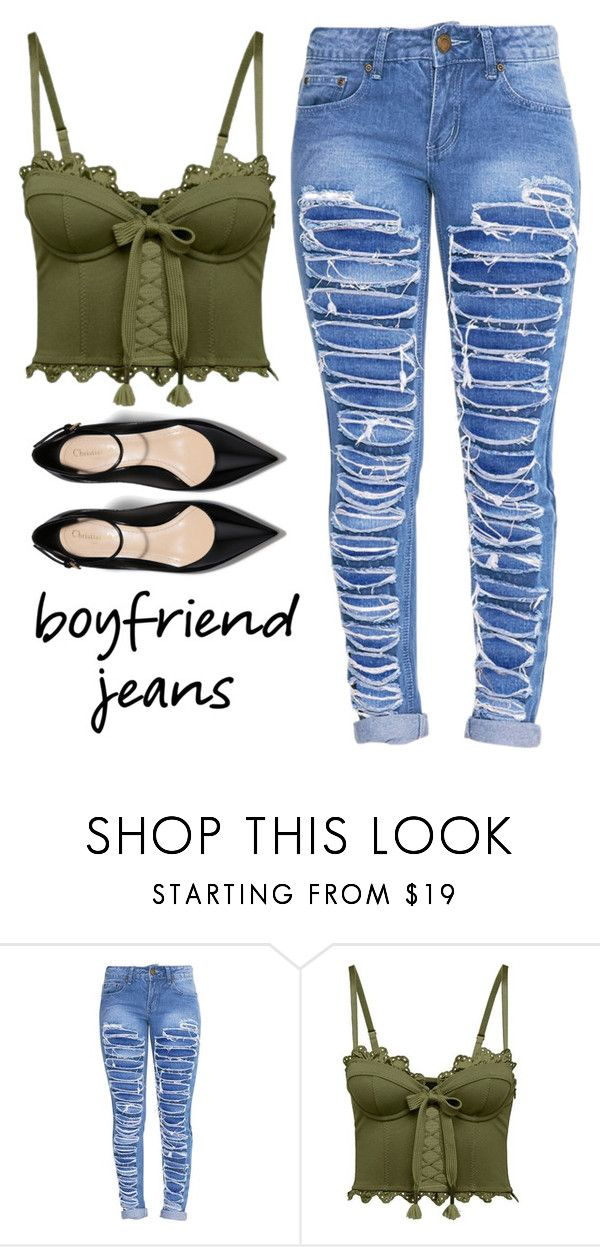 """""""Boyfriend Jean"""" by rev2fashion ❤ liked on Polyvore featuring Puma and boyfriendjeans"""