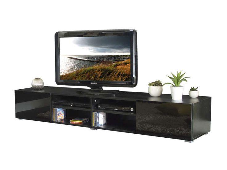 Meuble TV MAGNUS coloris noir - pas cher ? C'est sur Conforama.fr - large choix, prix discount et des offres exclusives Meuble tv sur Conforama.fr