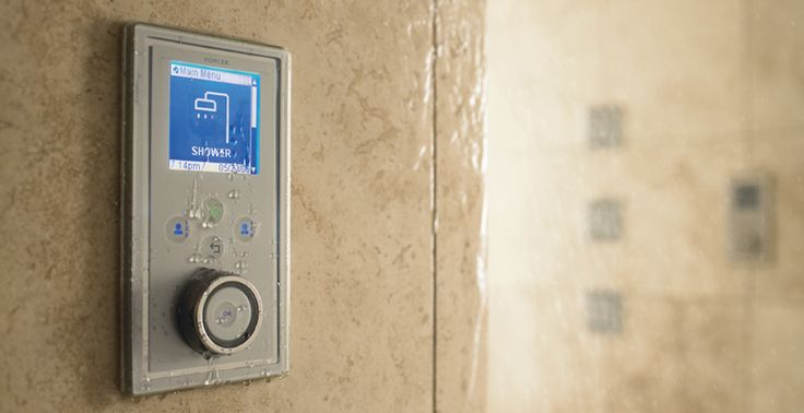Control your shower, digitally!     Kohler offers 3 options:   DTV-the original digital shower control - 6 user presets;  DTV II-compatible to control Kohler Steam, Audio, Lighting & Chromatherapy or  DTV Promt-1 or 2 functions, warm-up, countdown mode & pause