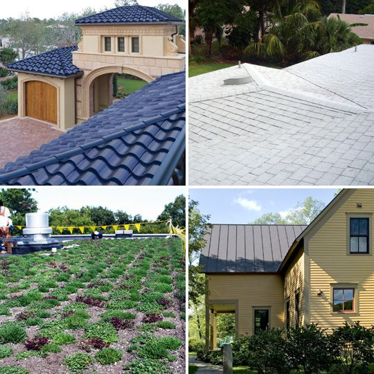 4 Eco Friendly Roof Options