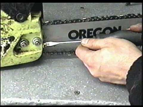 HOW TO Replace Chain Adjuster Screw on Poulan Chainsaw