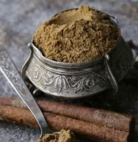 Dhansak Masala (Spices for Dhansak) Recipe - Dhansak masala might seem tedious at first glance but is totally worth the effort! It's a popular dish of the Parsi Zoroastrian community and combines elements of Persian and Gujarati cuisine.