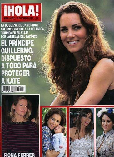 """Revistas del Corazón: Las portadas de la semana - Jueves, 27 de septiembre > """"¡Hola!"""""""